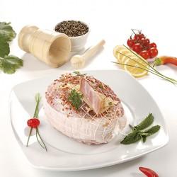 Roti Recheado com Queijo e Bacon