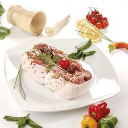 Roti de Lombinho com Bacon e Ervas Aromáticas